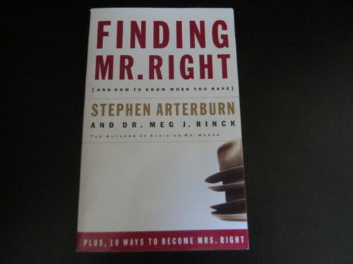 Finding Mr. Right – Stephen Arterburn (käytetty)
