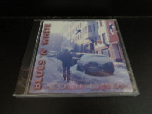 Blues `n´ White – Mid Calvary Blues Band (käytetty) (CD)