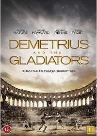 Gladiaattorit – Demetrius and the Gladiators (DVD)
