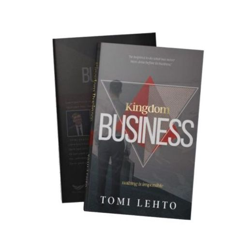 Kingdom Business – Nothing Is Impossible – Tomi Lehto (2-laatu) (englanninkielinen)