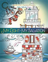My Light and My Salvation - värityskirja