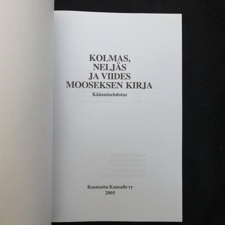 Viides Mooseksen Kirja